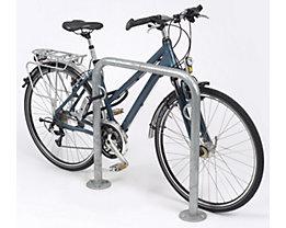 Arceau pour vélos TRUST – galvanisé à chaud, avec anneau