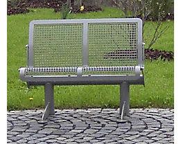 Sitzbank, ergonomisch - 2-er Bank