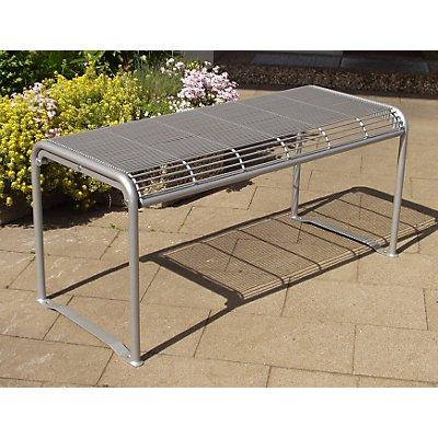 Böco Außentisch von Böco - Stahl, verzinkt