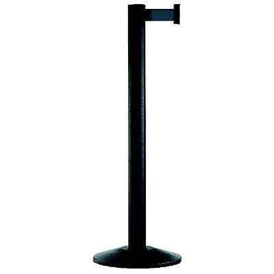 VIAGUIDE Gurtpfosten - Aluminium, schwarz
