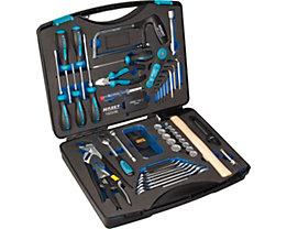 Werkzeugkoffer - 56 Teile in Hartschaumeinlage