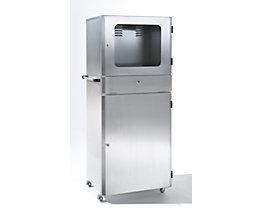 Edelstahl-PC-Schrank - Schutzart IP32