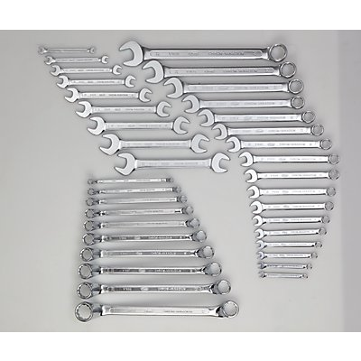 VIGOR Werkzeug-Sortiment KEY, Maul- und Ringschlüssel, 36-teilig, lose (ohne Einlage) Werkzeug lose