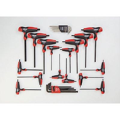 VIGOR Werkzeug-Sortiment TURN - T-Griff-Schraubendreher, 32-teilig, lose (ohne Einlage) - Werkzeug lose