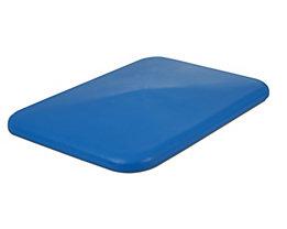 Deckel - für Behälter 340 l, blau