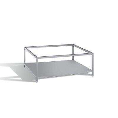 Untergestell mit Zwischenboden - Format DIN A1 - lichtgrau