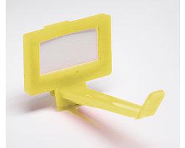 Schlüsselhaken, VE 10 Stk - ab 1 VE - gelb