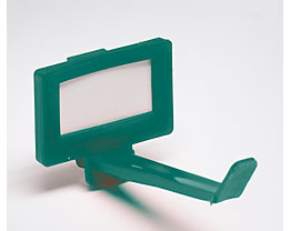 Schlüsselhaken, VE 10 Stk - ab 1 VE - grün