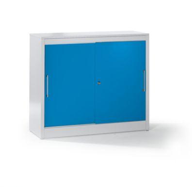 Mauser Schiebetürschrank - Sideboard mit 2 Fachböden