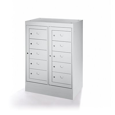 Armoire pour ordinateurs portables - 10 compartiments, h x l 1115 x 782 mm