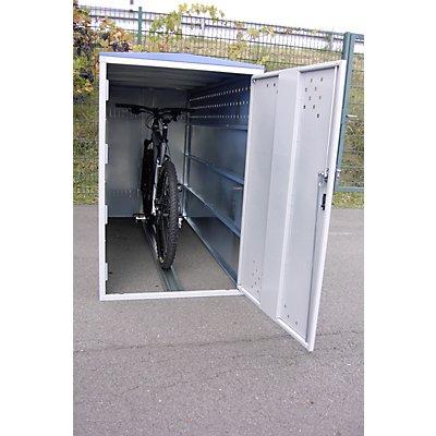 Fahrradbox - Anbauelement mit Giebeldach