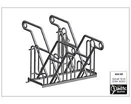 WSM Anlehnparker - Modell 4600 XBF, zweiseitig