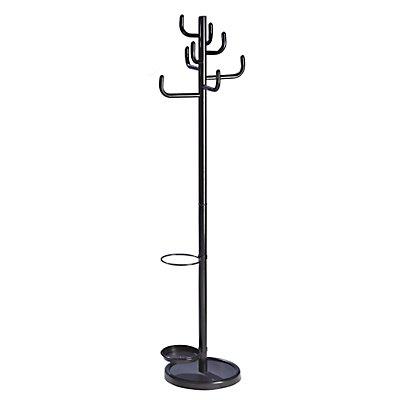 Garderobenständer - 8 Stahlhaken stabil
