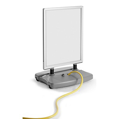 Support publicitaire WINDTALKER - h x l x p 1215 x 625 x 500 mm