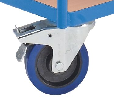 EUROKRAFT Industrie-Tischwagen - 2 Etagen - Etagenhöhen 235 / 765 mm
