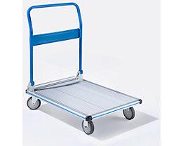 Aluminium-Plattformwagen KOMFORT - Tragfähigkeit 150 kg