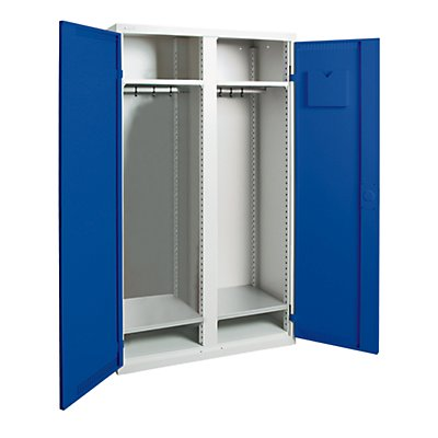 stumpf Garderobenschrank - 1 Mitteltrennwand, 4 Fachböden
