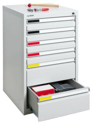 Schubladenschrank - Breite 500 mm, 7 Schubladen