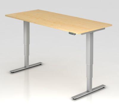 UPLINER-2.0 Stehschreibtisch - T-Fuß-Gestell, Breite 1800 mm