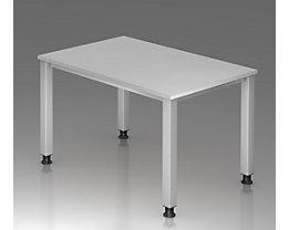office akktiv RENATUS Schreibtisch - 4-Fuß-Gestell, Breite 1200 mm