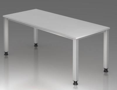 office akktiv RENATUS Schreibtisch - 4-Fuß-Gestell, Breite 1800 mm -