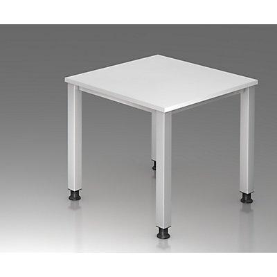 office akktiv RENATUS Schreibtisch - 4-Fuß-Gestell, Breite 800 mm