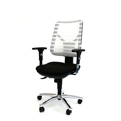 Topstar PANDA Ergonomischer Bürostuhl - inkl. Armlehnen und Punktsynchronmechanik