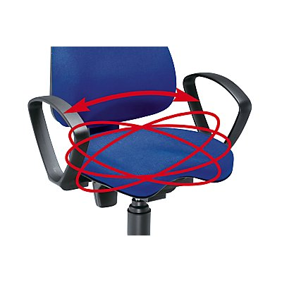 Topstar Sitzhocker Balance 10 - Sitz-Ø 360 mm