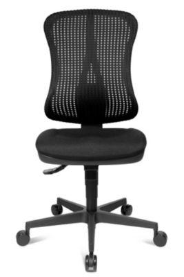 Bandscheiben-Drehstuhl, Muldensitz - ohne Armlehnen - Sitz