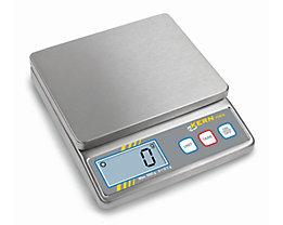Edelstahlwaage - Wägebereich max. 500 g