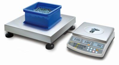 Zählsystem - Mengenwaage max. 300 kg, BxTxH 650 x 500 x 142 mm