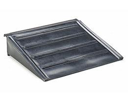 Auffahrrampe - aus Polyethylen, LxBxH 650 x 800 x 165 mm