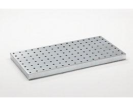 Lochblechrost - verzinkt, für Universalwanne, für Auffangvolumen 40 l