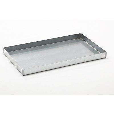 Stahl-Kleingebinde-Auffangwanne - LxBxH 1000 x 600 x 70 mm