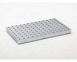 Lochblechrost - verzinkt, für LxBxH 1000 x 600 x 70 mm