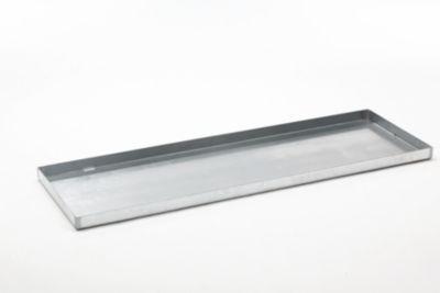 Stahl-Kleingebinde-Auffangwanne - LxBxH 1850 x 600 x 60 mm, verzinkt