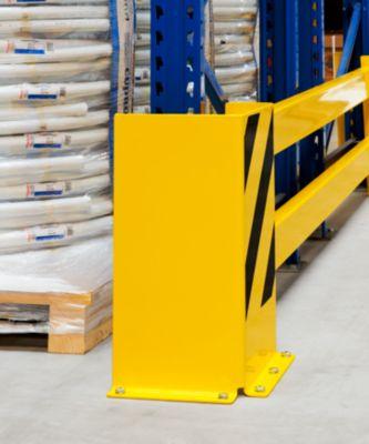 Regalschutz-Planken-Set - mit Eck-Anfahrschutz