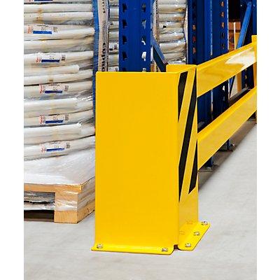 MORAVIA Regalschutz-Planken-Set - mit Eck-Anfahrschutz