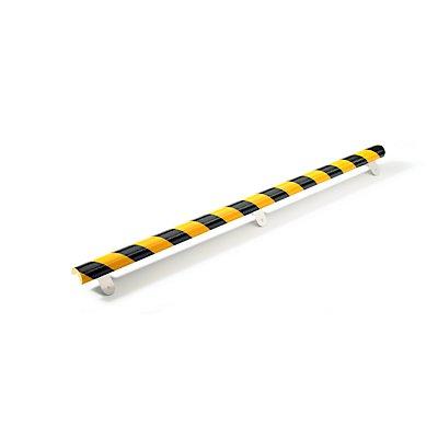 SHG Knuffi Knuffi® Warn- und Schutzprofil - Länge 1000 mm, Querschnitt Dreiviertelkreis klein, gelb / schwarz