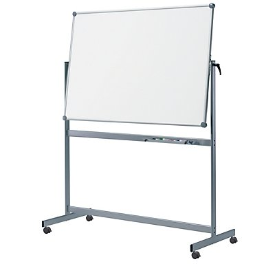 MAUL Drehtafel, HxT 1950 x 650 mm - mobile Whiteboard-Tafel