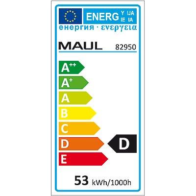 MAUL Halogen-Tischleuchte - stufenlos dimmbar, 50 Watt