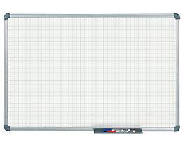 MAUL – Tableau quadrillé blanc - quadrillage 20 x 20 mm