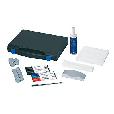MAUL Whiteboard-Zubehör-Set - mit Kunststoffkoffer, Set