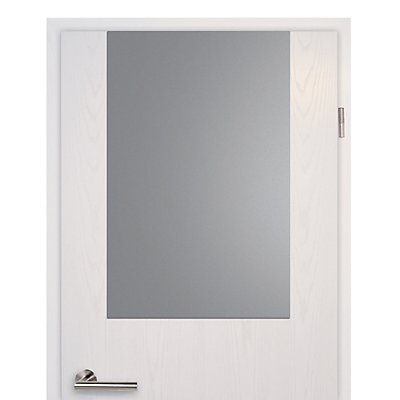 MAUL Tür-Whiteboard - HxB 880 x 585 mm, grau