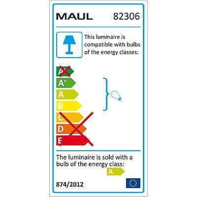 MAUL Energiespar-Leuchte, Metall - 11 W, silber