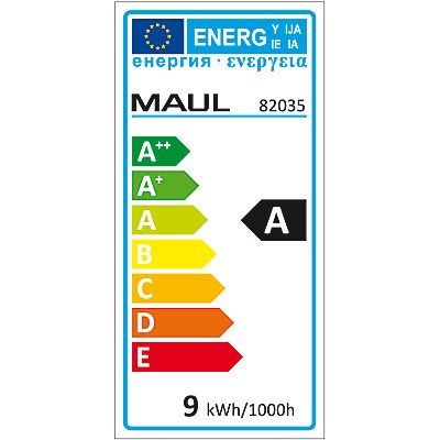 MAUL LED-Tischleuchte - mit 21 LEDs und Klemmfuß