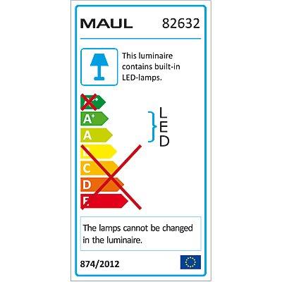 MAUL LED-Lupenleuchte, tageslichtweiß - 90 LEDs, 6500 K, weiß