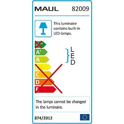 MAUL LED-Leuchte, 6500 K - 48 LEDs, silber