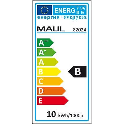 MAUL LED-Leuchte, dimmbar - 6500 K, silber