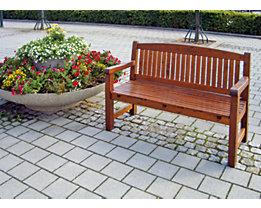 Holz Sitzbank, Braun   Wetterfest